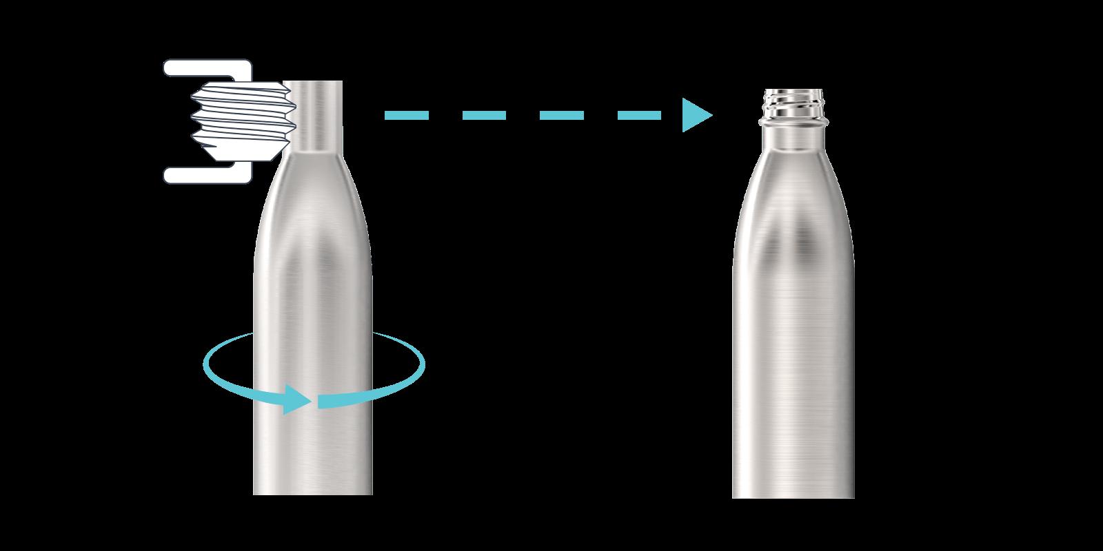 Cómo hacemos nuestras botellas de agua de metal - Step3