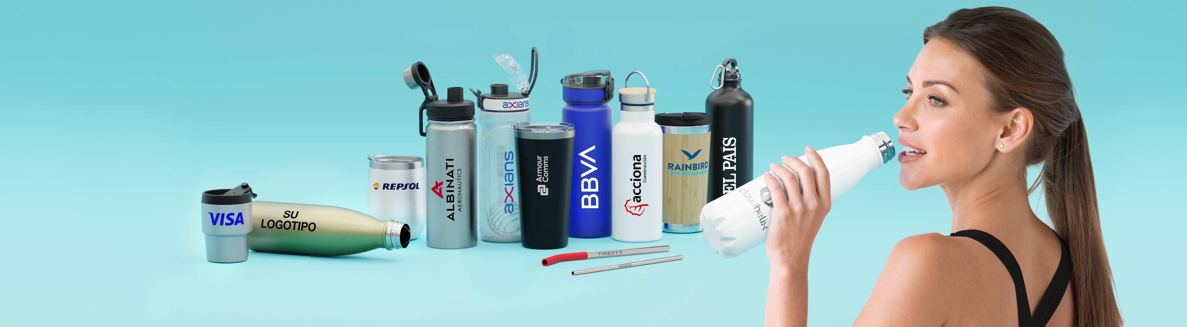 Flasky - Botellas de agua personalizadas