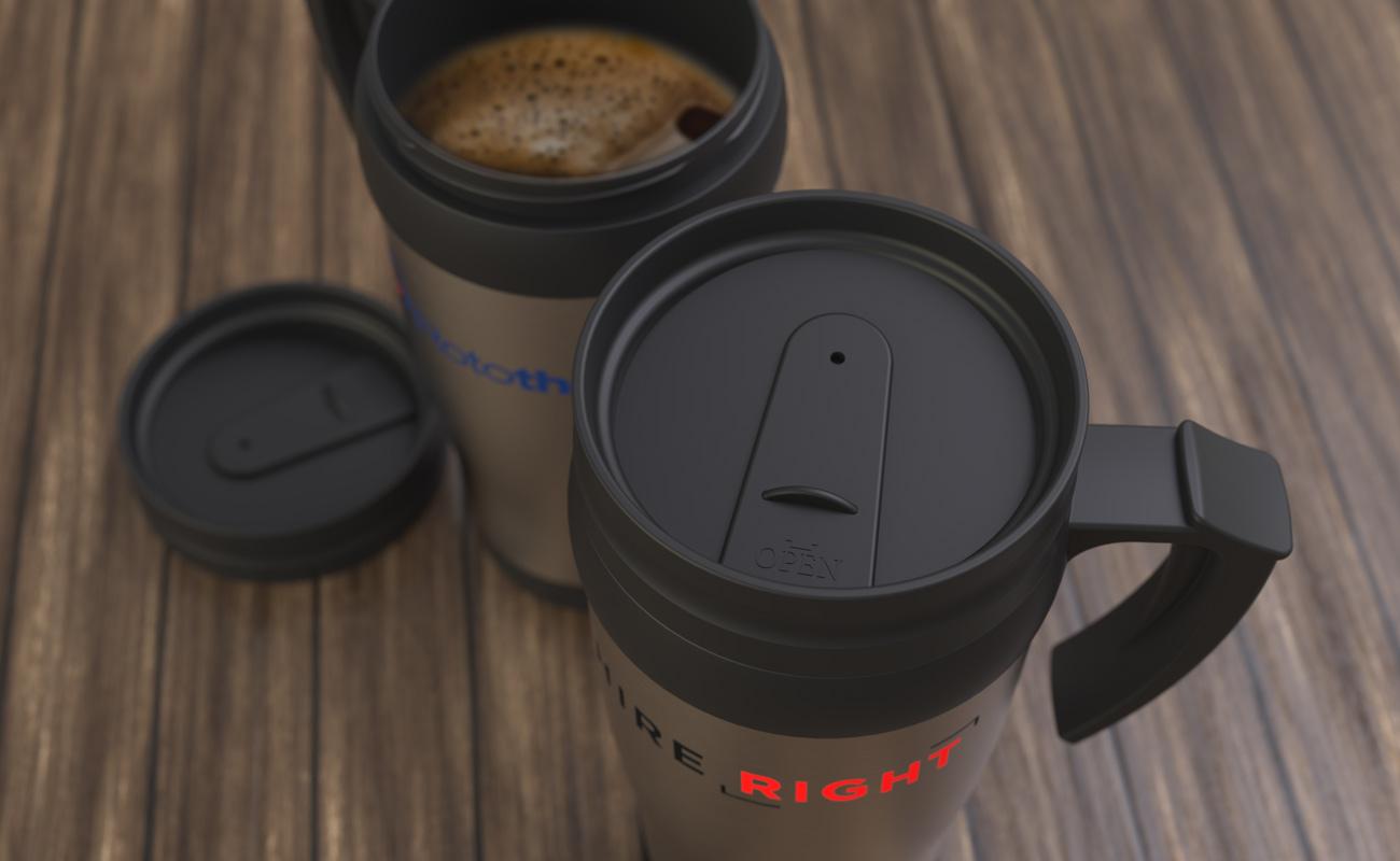 Thermo - Taza de viaje con logotipo