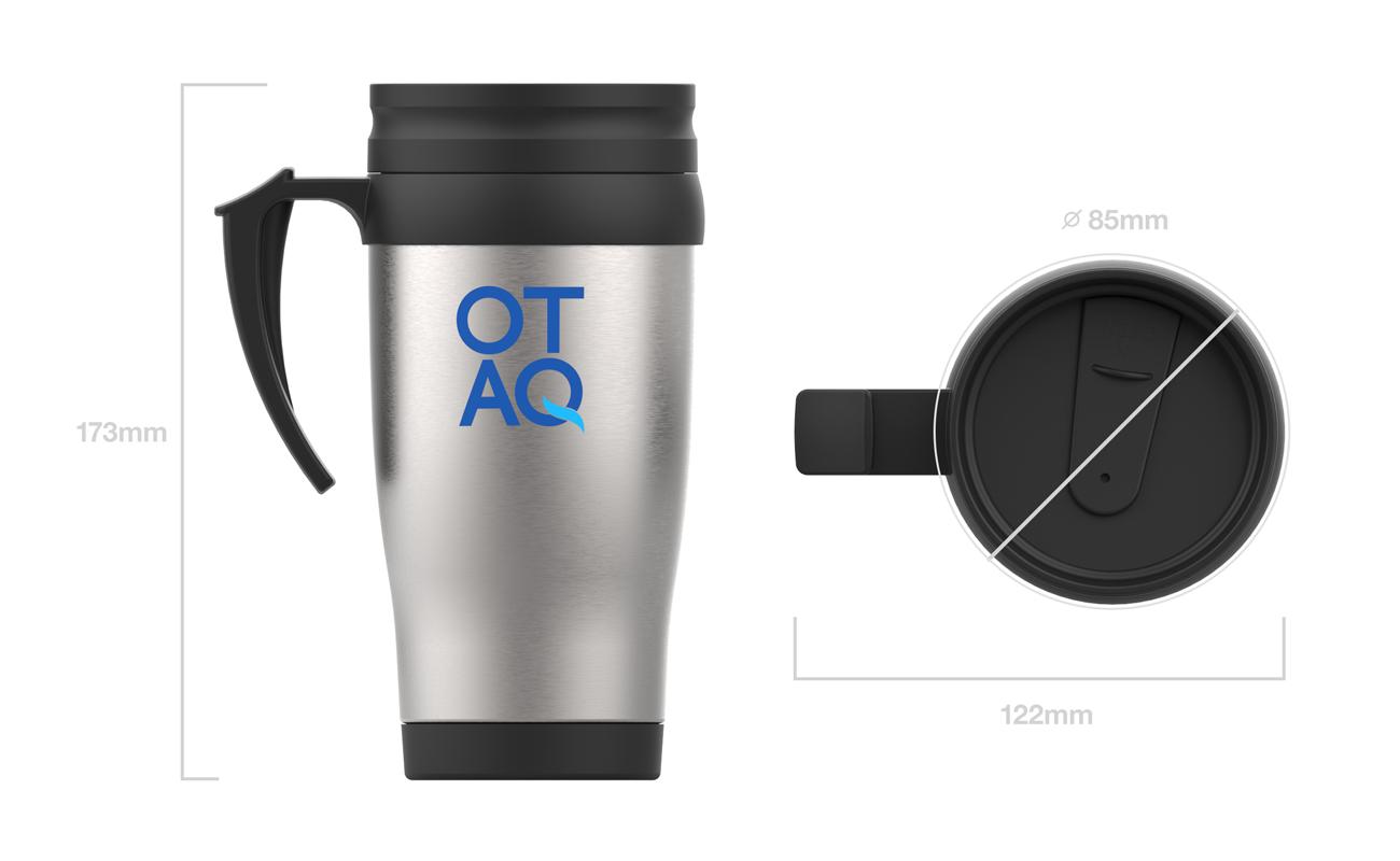 Thermo - Tazas de viaje con logo
